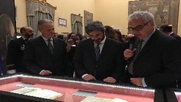 7 - La fortuna di Dante, Fico visita la mostra allestita a Montecitorio
