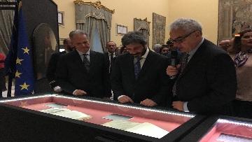 6 - La fortuna di Dante, Fico visita la mostra allestita a Montecitorio