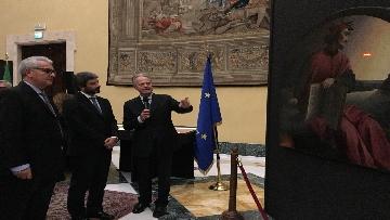 9 - La fortuna di Dante, Fico visita la mostra allestita a Montecitorio