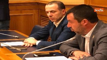 3 - Droga, Lega presenta ddl per raddoppiare pene, la conferenza con Salvini immagini