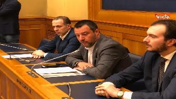 2 - Droga, Lega presenta ddl per raddoppiare pene, la conferenza con Salvini immagini