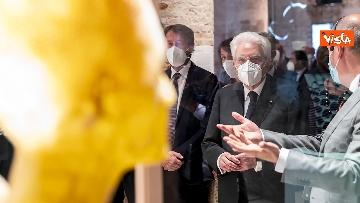1 - Mattarella visita la Biennale di Architettura a Venezia con Franceschini e Zaia