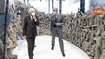 9 - Mattarella visita la Biennale di Architettura a Venezia con Franceschini e Zaia