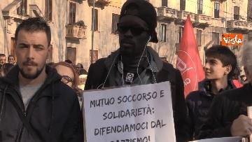 8 - Corteo dei centri sociali a Milano contro il decreto Salvini