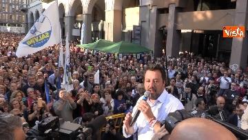 3 - Il comizio del ministro Salvini a Biella