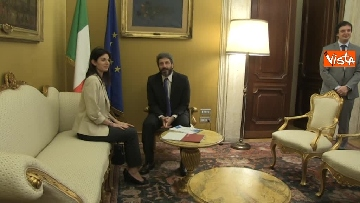1 - Fico e Raggi, primo incontro ufficiale a Montecitorio
