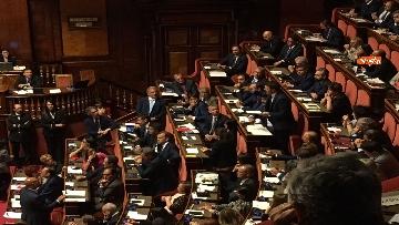 3 - L'intervento di Matteo Renzi al Senato dopo il discorso di Donte