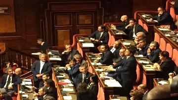 7 - L'intervento di Matteo Renzi al Senato dopo il discorso di Donte