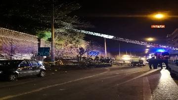5 - Crollano le mura di Villa Mercede a Roma, paura nel quartiere San Lorenzo