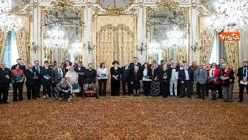 3 - Mattarella consegna onorificenze OIMR al Quirinale