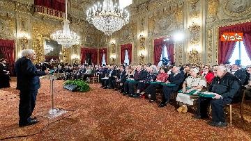 9 - Mattarella consegna onorificenze OIMR al Quirinale