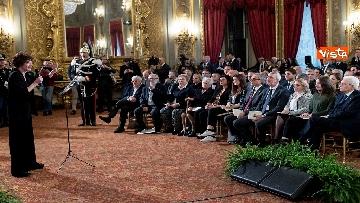 4 - Mattarella consegna onorificenze OIMR al Quirinale