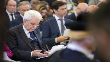 6 - Mattarella, Conte e Casellati all'inaugurazione dell'Anno Giudiziario della Corte dei Conti
