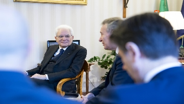 3 - Mattarella, Conte e Casellati all'inaugurazione dell'Anno Giudiziario della Corte dei Conti
