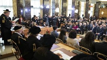 5 - Mattarella, Conte e Casellati all'inaugurazione dell'Anno Giudiziario della Corte dei Conti