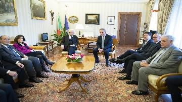 2 - Mattarella, Conte e Casellati all'inaugurazione dell'Anno Giudiziario della Corte dei Conti