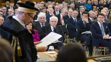 7 - Mattarella, Conte e Casellati all'inaugurazione dell'Anno Giudiziario della Corte dei Conti