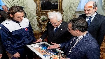 6 - Mattarella incontra l'ambasciatore francese Masset al Quirinale