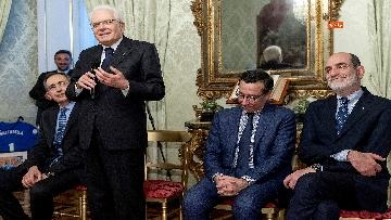 5 - Mattarella incontra l'ambasciatore francese Masset al Quirinale