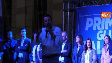 6 - Il comizio del ministro dell'Interno Matteo Salvini a Torino