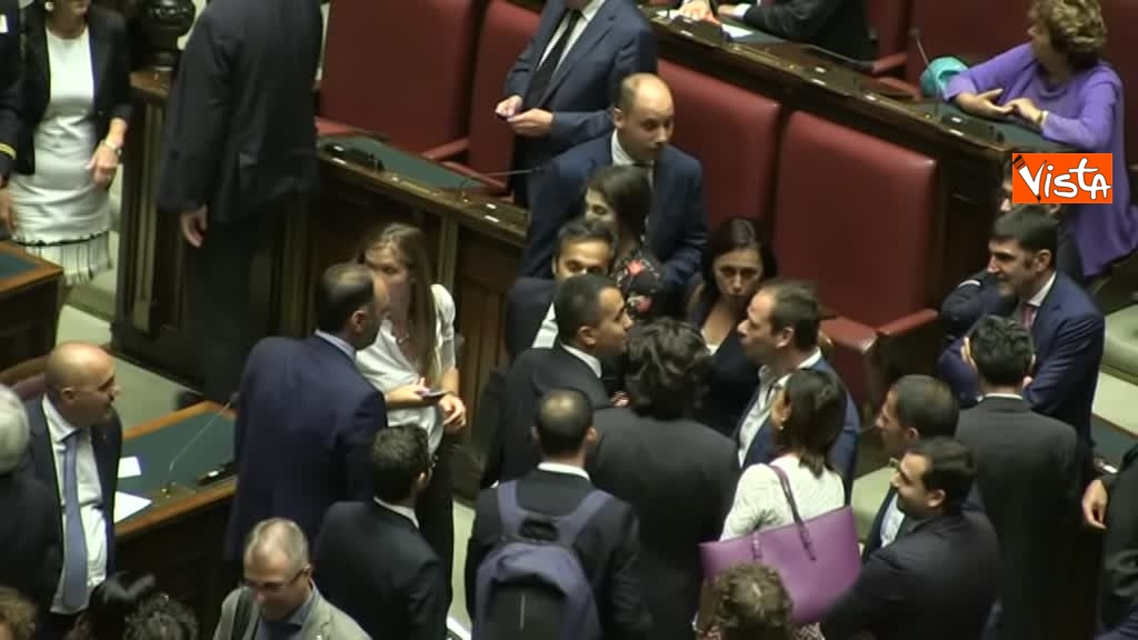 09-09-19 Governo incassa la fiducia alla Camera
