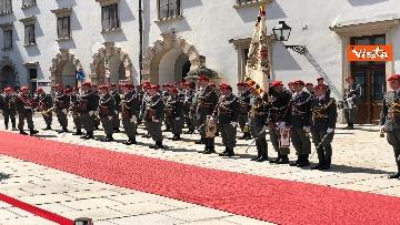7 - Il Presidente della Repubblica Mattarella alla Hofburg di Vienna
