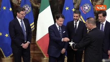6 - La cerimonia della campanella del Presidente del Consiglio Giuseppe Conte