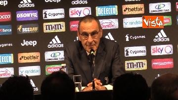1 - La conferenza di Sarri alla Juventus