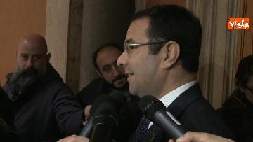 5 - Da Centinaio a Laforgia, i senatori si registrano a Palazzo Madama