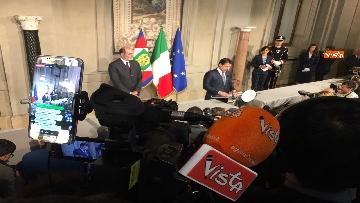 13 - Conte è il premier incaricato, l'incontro con la stampa al Quirinale, le immagini