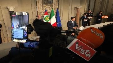12 - Conte è il premier incaricato, l'incontro con la stampa al Quirinale, le immagini