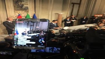 11 - Conte è il premier incaricato, l'incontro con la stampa al Quirinale, le immagini