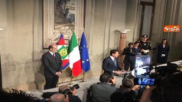 2 - Conte è il premier incaricato, l'incontro con la stampa al Quirinale, le immagini