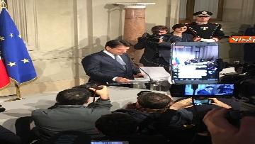 3 - Conte è il premier incaricato, l'incontro con la stampa al Quirinale, le immagini