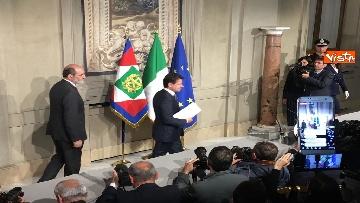 7 - Conte è il premier incaricato, l'incontro con la stampa al Quirinale, le immagini