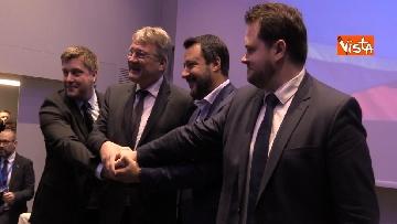 3 - Salvini comincia la campagna elettorale insieme agli alleati sovranisti