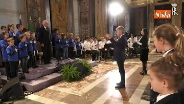 1 - Mattarella riceve studenti delle scuole primarie nella Giornata internazionale della disabilità