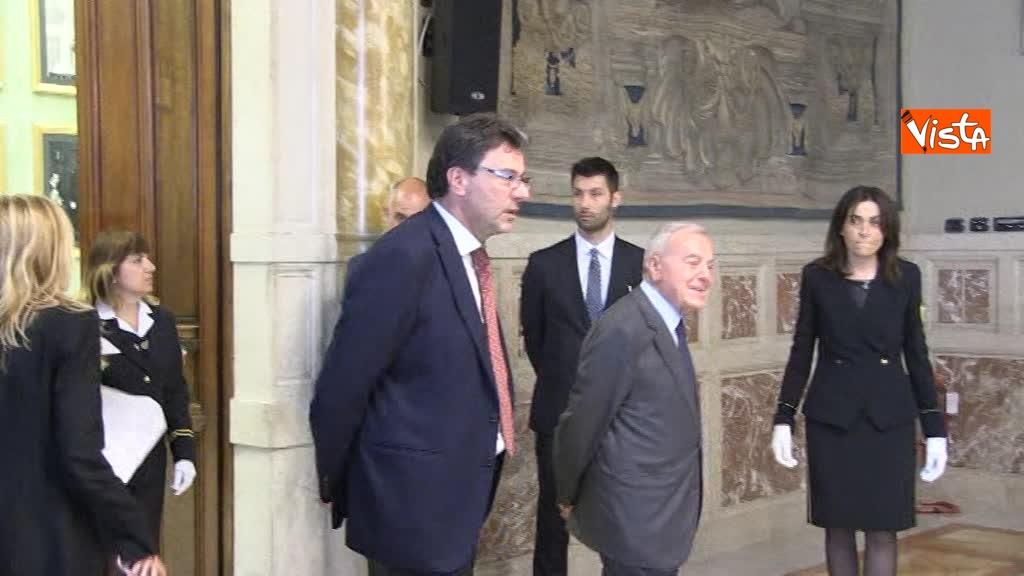20-06-18 Autorita Trasporti la relazione annuale con Mattarella Toninelli Fico Casellati immagini