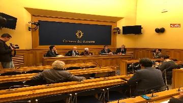 3 - Manovra, la conferenza stampa di Più Europa