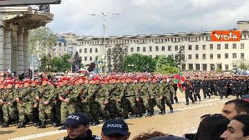 1 - La parata militare a Sofia per la festa dell'esercito in occasione di San Giorgio