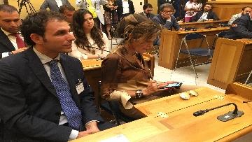 6 - Simone Furlan aderisce a FdI, la conferenza stampa a Montecitorio con la Meloni