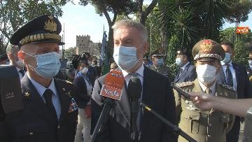 6 - Mattarella al 77° anniversario Difesa di Roma, l'omaggio ai caduti al Parco della Resistenza. Le foto