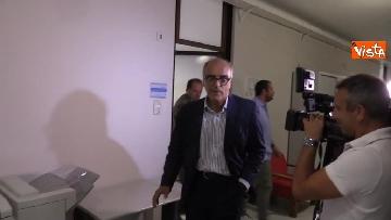 6 - Il capo Procuratore Francesco Cozzi esce dal suo ufficio in Procura