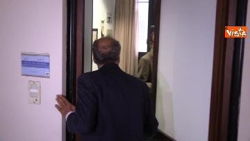 3 - Il capo Procuratore Francesco Cozzi esce dal suo ufficio in Procura