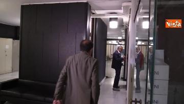 8 - Il capo Procuratore Francesco Cozzi esce dal suo ufficio in Procura