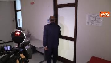 1 - Il capo Procuratore Francesco Cozzi esce dal suo ufficio in Procura