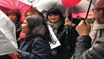 7 - Violenza donne, la manifestazione di FdI dedicata a Desireé Mariottini