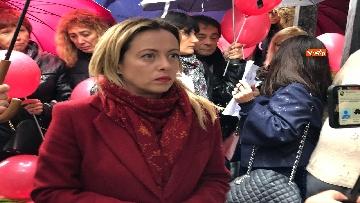 5 - Violenza donne, la manifestazione di FdI dedicata a Desireé Mariottini