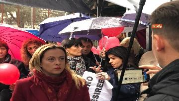 6 - Violenza donne, la manifestazione di FdI dedicata a Desireé Mariottini