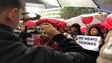 3 - Violenza donne, la manifestazione di FdI dedicata a Desireé Mariottini